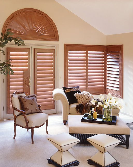 Plantation Wood Shutters - Stains